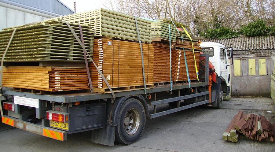 Another fencing delivery to site