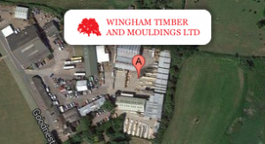 Wingham Timber Google Map