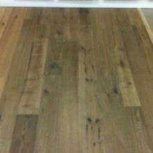 Solid Smoked Wooden Flooring